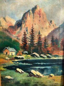 Lawren Harris - Lake O'Hara 1922 Canadian Art