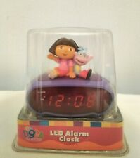 New ListingDora The Exployer Lcd Alarm Clock Electric or Battery
