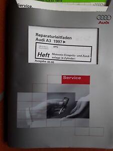 Reparaturleitf. Audi A3 1997, Ausg. 05.00 Motronic Einspritz- u Zündanlage #2462