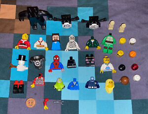 Lego - Mixed Lot of Heads, Torso, Legs & Hands - Miscellaneous - Various