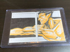 2017 Marvel Premier Dual Panel Sub-Mariner Sketch Card