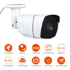 1080P CCTV POE Camera Home Outdoor Bullet Metal Security CCTV Camera IP66 P3G0