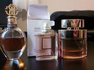 Coco Chanel Mademoiselle Michael Kors Wonderlust Roberto Cavalli FULL SIZE used