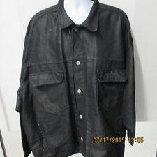 Jordin Sportswear 5XL, Denim Style Black Work Jacket