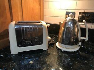 Dualit Kettle & Toaster Set Cream