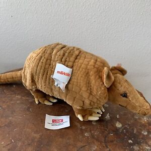 Steiff Armadillo Commemorative Texas Sesquicentennial Mint Condition NOS Germany