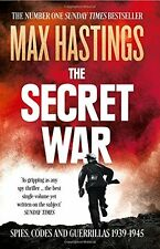 The Secret War by Hastings, Max | Paperback Book | 9780007503902 | NEW