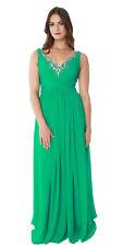 Women's Sexy Dress Chiffon Lace Sleeveless Sheath Slim Maxi Formal Prom Dresses