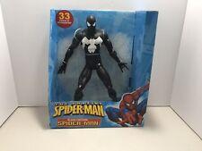 "amazing spiderman Black Costume 12"" Action Figure 2005"