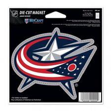 NHL 4 inch Auto Magnet Columbus Blue Jackets Current Logo