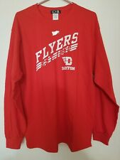 University Dayton Flyers Ncaa College Basketball Football Licensed Ls T-Shirt L