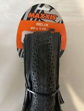MAXXIS Relix Bmx Folding Tire 20 X 1.75 Black Sidewall
