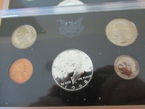 1968 Proof and Uncirculated Annual US Mint Coin Sets PDS 15 Coins Silver 50c