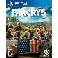 Far Cry 5 (Sony PlayStation 4 PS4) Farcry 5 BRAND NEW SEALED