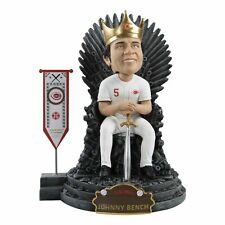 Johnny Bench Cincinnati Reds Game of Thrones Legend Iron Throne Bobblehead NEW