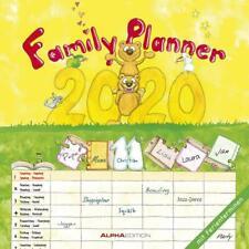 Familienplaner 2020 - Broschürenkalender (30 x 60 geöffnet) - Wandkalender - mit