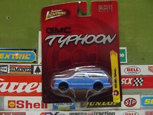 JOHNNY LIGHTNING 1:64 BLUE 1992 GMC TYPHOON  (17)