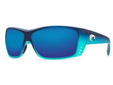 NEW Costa Del Mar CAT CAY Matte Caribbean Fade & 580 Blue Mirror Plastic 580P