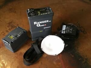 Elinchrom Ranger Quadra RX Pack, Head, And Charger. Refurbished Battery