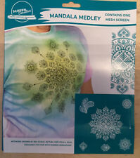 "Screen Sensations Mandala Medley 12"" X 12"" Mesh Screen"