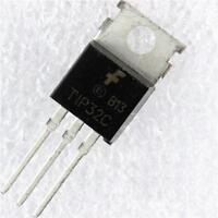 Transistor 100V 3 Amp TIP32C PNP T0220 2 PIECES
