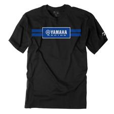 Factory Effex Yamaha RACING STRIPES  BLACK Premium T-Shirt LARGE