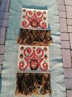 Mid Century Carpet Rug Runner Tapestry Wall Hanging 60 years old VINTAGE retro