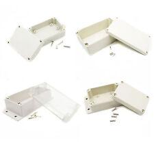 Waterproof Plastic Electronic Project Case Instrument Cover Enclosure Box neu