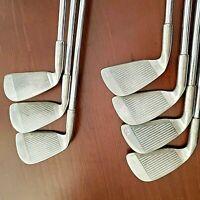 Tour Model II Irons 1-4+6,7, 9 Peripheral Weight Black Dot True Temper Reg Steel