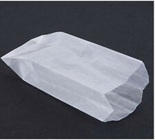 New listing Decony Sandwich Glassine Style Waxed Paper Bag Wax 100 per Pack Grease Resistant