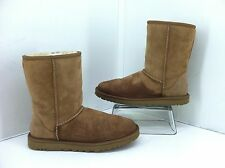 Ugg Womens Brown Classic Short Boots. Size 8 Style 5825