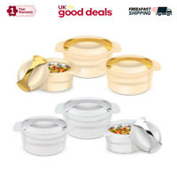 3pc Thermal Insulated Casserole Set Serve Dish Food Warm Freeze Hot Cold Pot Pan