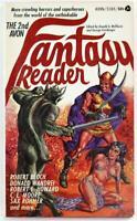 The 2nd Avon Fantasy Reader edited by Donald A Wollheim 1969 Avon PB S385