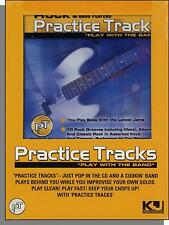 Practice Tracks: Play With the Band - Bass Guitar, Rock - New CD!