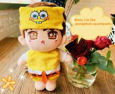 SpongeBob SquarePants ³ÂÇéÁî Xiaozhan Plush 20cm Doll Clothes Stuffed Gift N