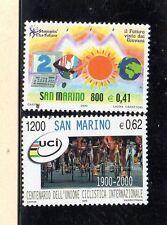 San Marino Centenario Unión Ciclista Internacional y otro año 2000 (CY-218)