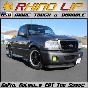 FORD TRUCKS »-(¯`v´¯)-» RHINOLIP® A USA MFG Flexible Rubber Chin Lip Edge Trim