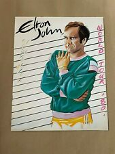 More details for elton john    -   1980  -  world tour   concert programme  - beautiful  -  ex