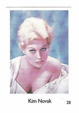 1970s Mazda cars Swedish Film Star Card #10 US Film & TV Actress Kim Novak