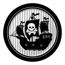 Pirate Parrty! Dinner Plates Foil Paper 8pk 20425018 Party Decoration Birthday