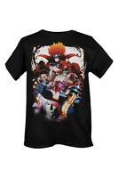 Marvel Vs Capcom 3 Game T shirt Street Fighter X Men Avengers