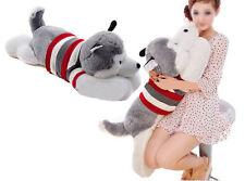 "50CM/20"" Stuffed Animal Plush Siberian Husky Dog Puppy Pillow Toy Doll Birthday"