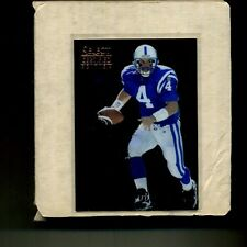 1996 SELECT CERTIFIED FOOTBALL COMPLETE SET 125 CARDS