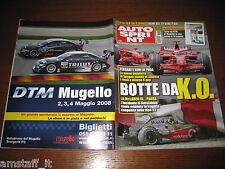 AUTOSPRINT 2008/18=GP F1 SPAGNA=RAIKKONEN=RALLY SENIGALLIA/TARO=1000 KM MONZA=