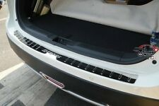 Stainless Steel Rear Bumper Protector Door Sill Plate For 2014Suzuki SX4 S-cross