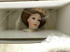 The Lenox Victorian Bride Doll w papers Christmas Wedding Store Bridal Shower