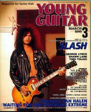 Young Guitar Mar/95 SLASH Dokken Nuno Van Halen Lynch Extreme Stratovarius