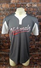 Mlb Washington Nationals Shirt Men Size Medium Majestic Cool Base