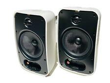 NEW Sonance MAG06V3 6 1/2 2-way Outdoor PAIR Speakers w/ Grills & Brackets Sonos