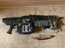 Official Gears Of War 3 Bloody Retro Lancer Neca Weapon Replica***USED***